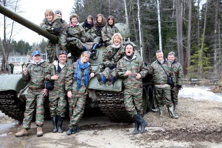 Tank rides
