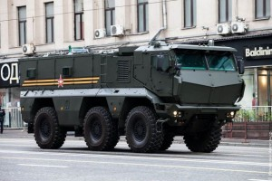 KAMAZ Typhoon-K 6x6 MRAP armoured vehicle