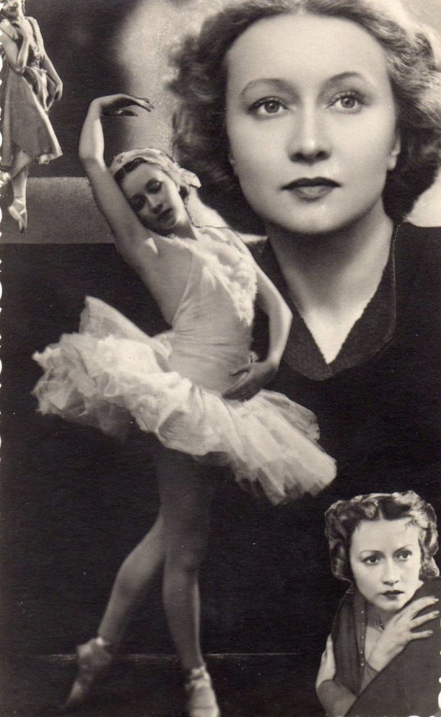 Galina Ulanova the great Russian ballet dancer